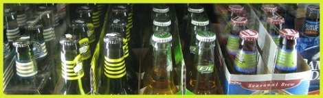 Yellow_Beer bottles_2013-04-07