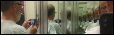 Black_Multiple mirror